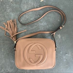 Gucci Soho Small Leather Disco Crossbody